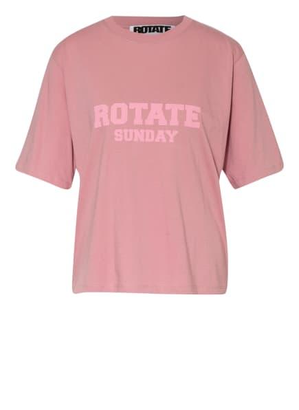 ROTATE BIRGER CHRISTENSEN T-Shirt ASTER, Farbe: ROSA (Bild 1)