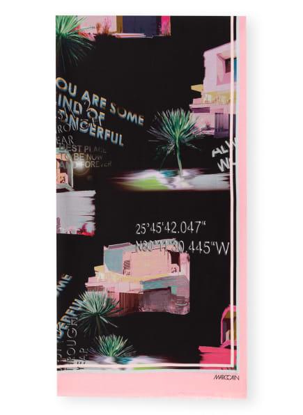 MARC CAIN Schal mit Seide, Farbe: 900 BLACK (Bild 1)