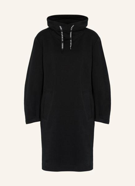 MARC CAIN Hoodie-Kleid, Farbe: 900 BLACK (Bild 1)
