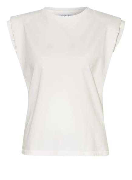 ANINE BING T-Shirt TANNER, Farbe: WEISS (Bild 1)