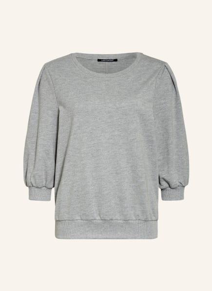 LUISA CERANO Sweatshirt mit 3/4-Arm, Farbe: GRAU (Bild 1)