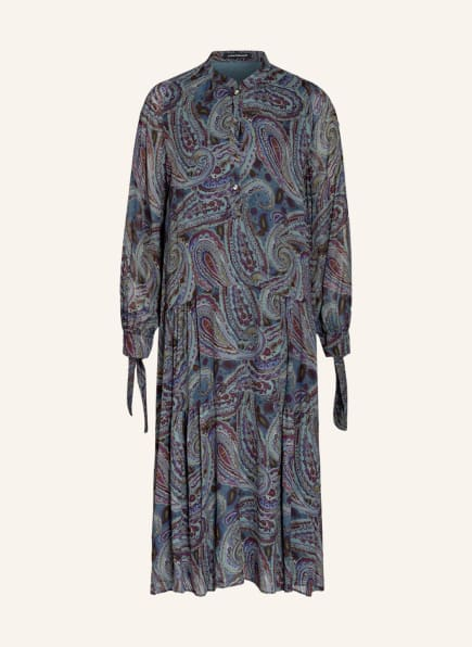 LUISA CERANO Kleid , Farbe: GRÜN/ PETROL/ DUNKELLILA (Bild 1)