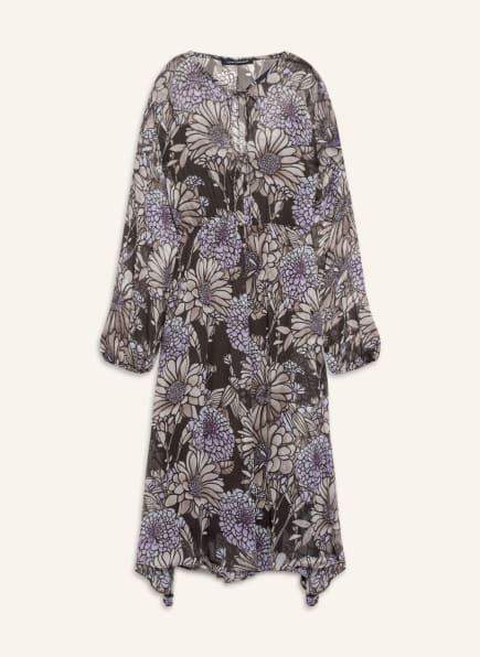 LUISA CERANO Kleid, Farbe: HELLBRAUN/ HELLLILA (Bild 1)