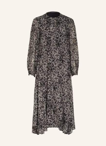 LUISA CERANO Kleid, Farbe: SCHWARZ/ TAUPE (Bild 1)