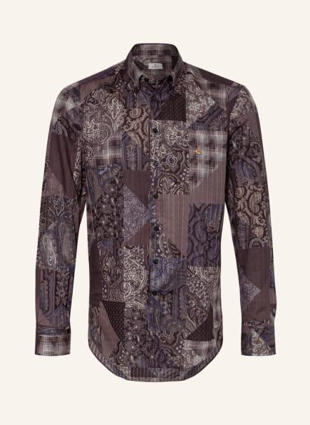 ETRO Hemd Regular Fit, Farbe: DUNKELBLAU/ GRAU/ HELLGRAU (Bild 1)