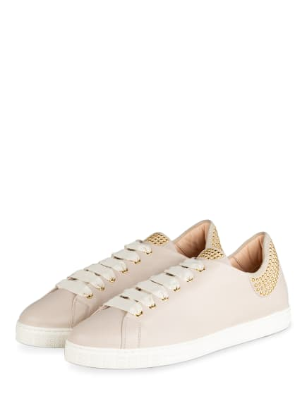 AGL Sneaker MARISTELLA mit Nietenbesatz, Farbe: BEIGE (Bild 1)