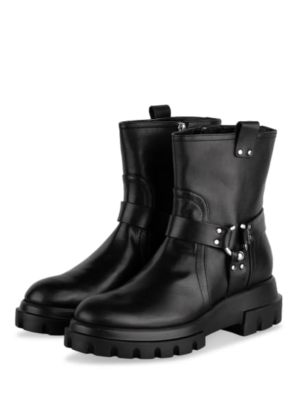 AGL Biker Boots SALLY, Farbe: SCHWARZ (Bild 1)