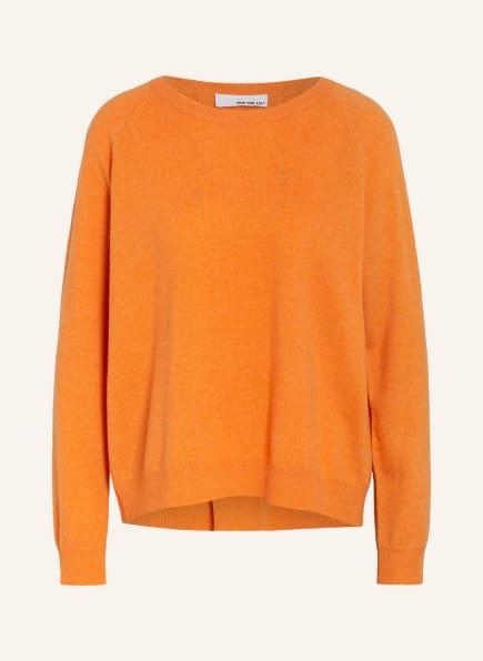 SEM PER LEI Cashmere-Pullover, Farbe: ORANGE (Bild 1)