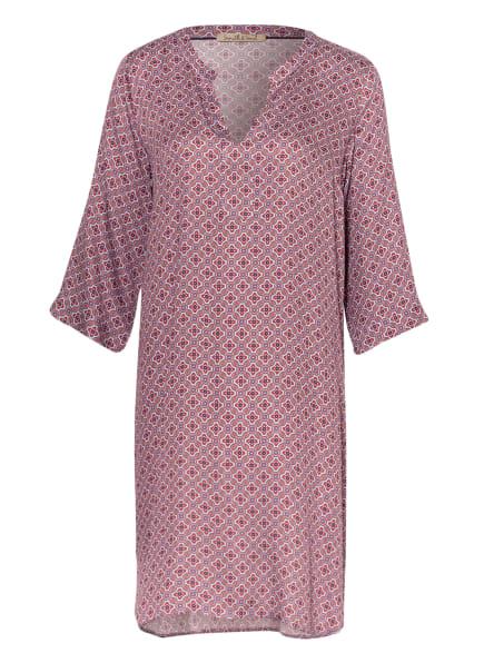 Smith&Soul Kleid mit 3/4-Arm, Farbe: ROT/ BLAU/ HELLBLAU (Bild 1)