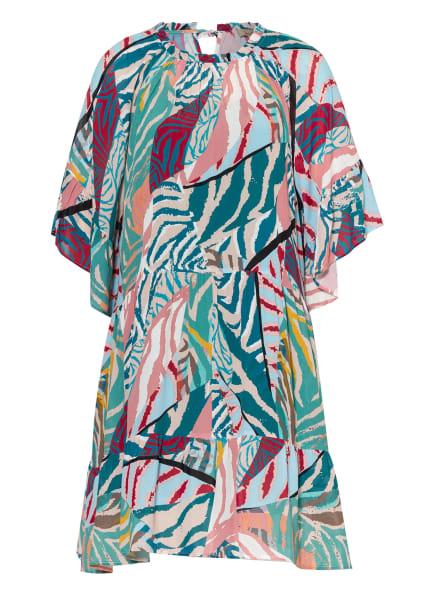 Smith&Soul Kleid mit 3/4-Arm, Farbe: PETROL/ ROSÉ/ HELLBLAU (Bild 1)