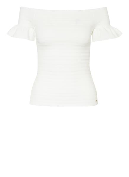 TED BAKER Off-Shoulder-Strickshirt, Farbe: WEISS (Bild 1)
