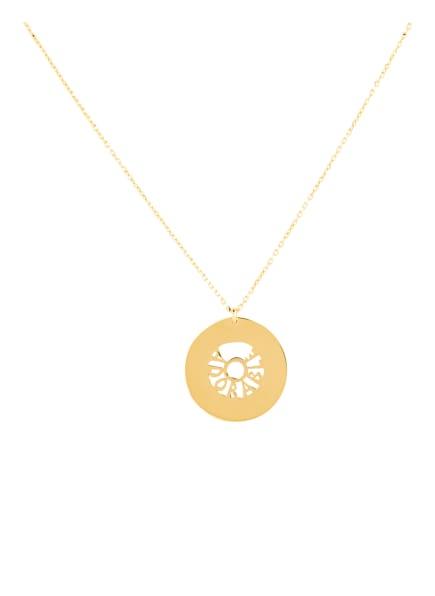 KURSHUNI Halskette ADORABLE, Farbe: GOLD (Bild 1)