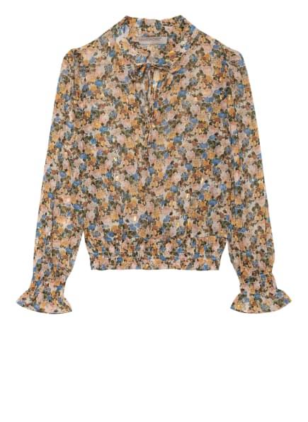RINASCIMENTO Blusenshirt, Farbe: CREME/ BLAU/ GRÜN (Bild 1)