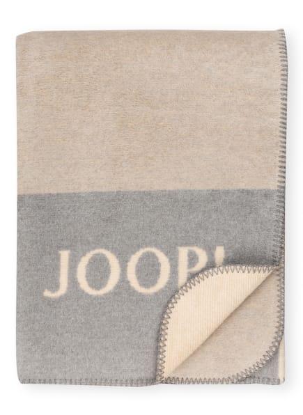 JOOP! Plaid, Farbe: BEIGE/ HELLBLAU/ GRAU (Bild 1)