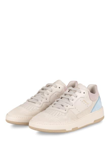 COPENHAGEN Plateau-Sneaker, Farbe: CREME/ HELLLILA/ HELLBLAU (Bild 1)