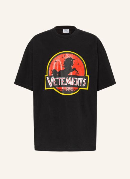 VETEMENTS Oversized-Shirt, Farbe: SCHWARZ (Bild 1)