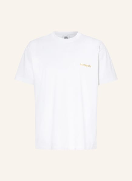 VETEMENTS Oversized-Shirt, Farbe: WEISS/ SCHWARZ (Bild 1)