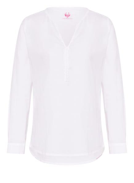 LIEBLINGSSTÜCK Blusenshirt ROSEMARIE mit Rüschenbesatz, Farbe: WEISS (Bild 1)