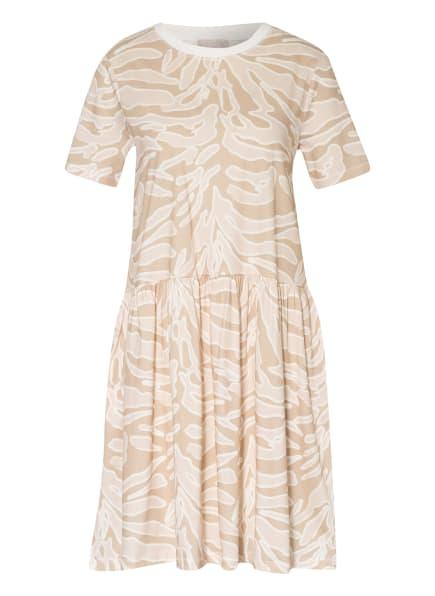 Mrs & HUGS Jerseykleid, Farbe: HELLBRAUN/ HELLROSA (Bild 1)