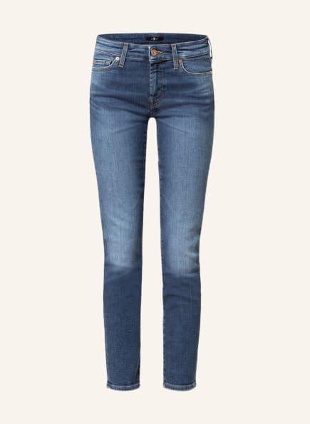 7 for all mankind Jeans PYPER , Farbe: ABOVE CROP SLIM ILLUSION SA MID BLUE (Bild 1)