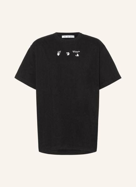Off-White T-Shirt, Farbe: SCHWARZ/ TAUPE (Bild 1)