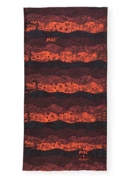 P.A.C. Multifunktionstuch VIRAL OFF, Farbe: SCHWARZ/ ORANGE/ PETROL (Bild 1)