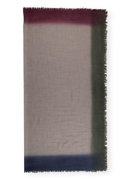 Faliero Sarti Tuch DERNY mit Cashmere, Farbe: TAUPE/ LILA/ BRAUN (Bild 1)