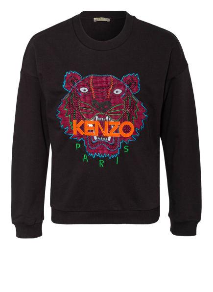KENZO Sweatshirt TIGER, Farbe: SCHWARZ (Bild 1)