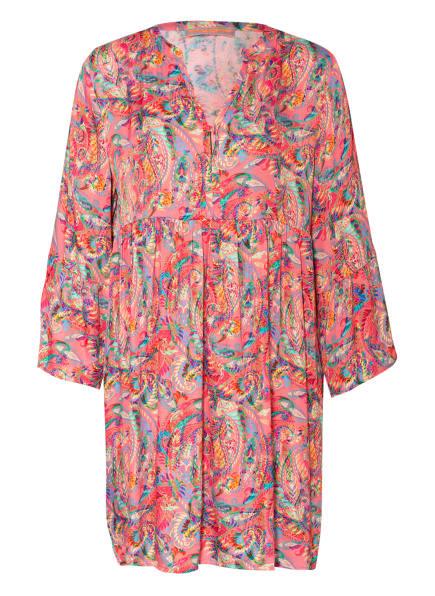 FRIEDA&FREDDIES Kleid mit 3/4-Arm , Farbe: ROSA/ BLAU/ NEONBLAU (Bild 1)