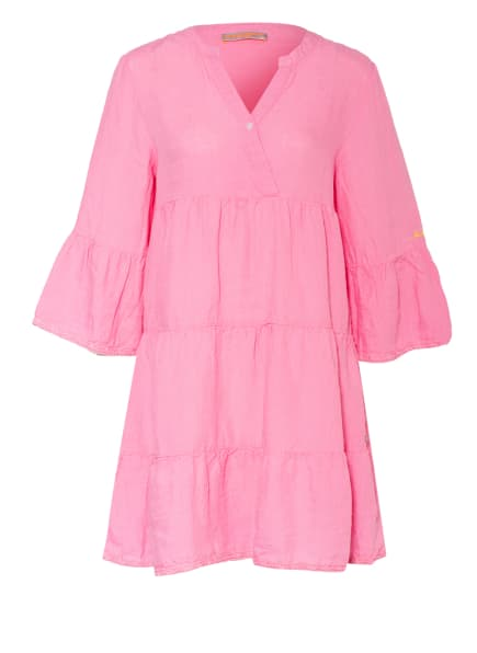 FRIEDA&FREDDIES Leinenkleid mit 3/4-Arm, Farbe: ROSA (Bild 1)