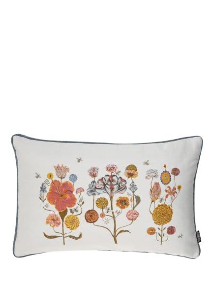 ROHLEDER Dekokissen CRAZY FLOWERS, Farbe: WEISS/ GELB/ ROSA (Bild 1)