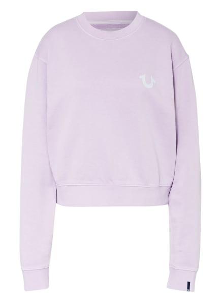 TRUE RELIGION Sweatshirt, Farbe: HELLLILA (Bild 1)