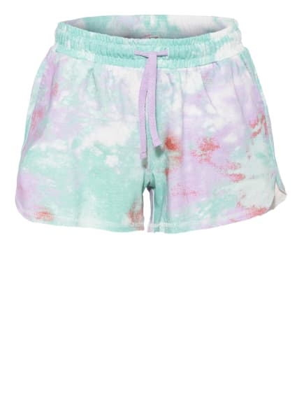 GARCIA Shorts, Farbe: HELLLILA/ HELLGRÜN/ WEISS (Bild 1)