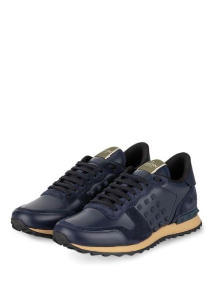 VALENTINO GARAVANI Sneaker ROCKSTUD UNTITLED, Farbe: DUNKELBLAU (Bild 1)