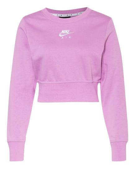 Nike Cropped-Sweatshirt AIR, Farbe: HELLLILA (Bild 1)