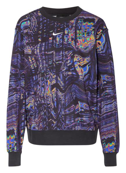 Nike Sweatshirt SPORTSWEAR, Farbe: DUNKELLILA/ SCHWARZ/ DUNKELGELB (Bild 1)