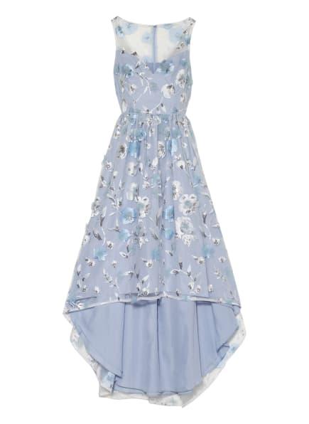 ADRIANNA PAPELL Abendkleid mit Paillettenbesatz, Farbe: HELLBLAU/ WEISS/ SILBER (Bild 1)