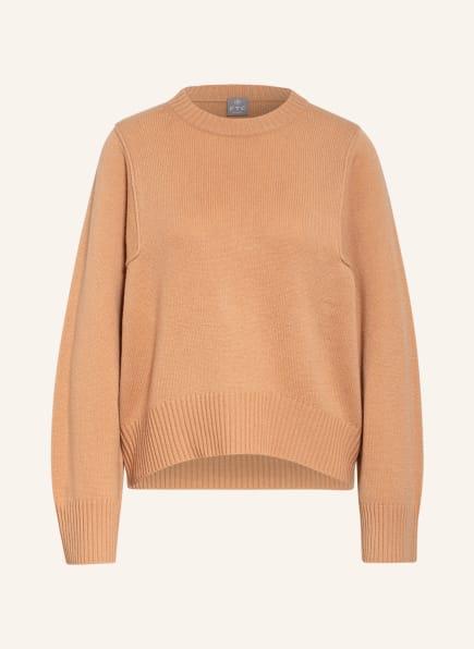 FTC CASHMERE Cashmere-Pullover, Farbe: NUDE (Bild 1)