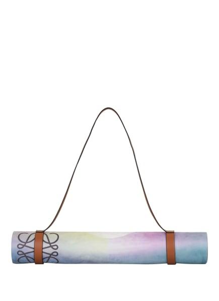 LOEWE Yogamatte MOONLIGHT, Farbe: BLAU/ LILA/ GELB (Bild 1)
