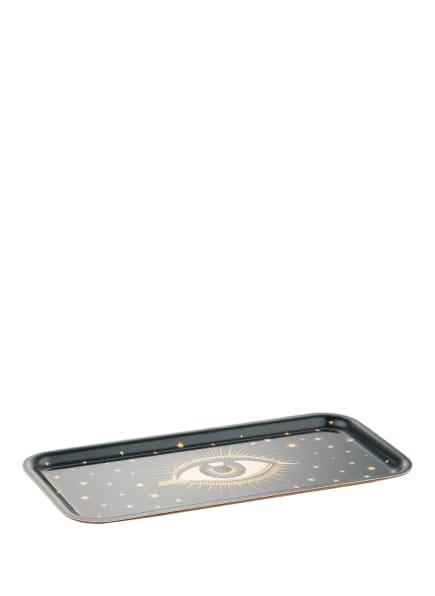 Les Ottomans Tablett , Farbe: GELB/ SCHWARZ/ WEISS (Bild 1)