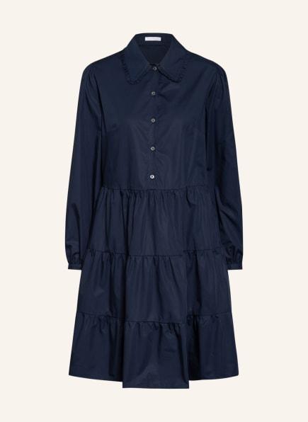 ROBERT FRIEDMAN Kleid mit Rüschenbesatz, Farbe: BLAU (Bild 1)