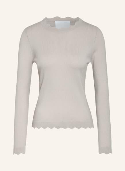 ALLUDE Pullover mit Cashmere, Farbe: CREME (Bild 1)