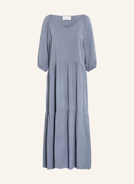 Juvia Kleid mit 3/4-Arm , Farbe: BLAUGRAU (Bild 1)