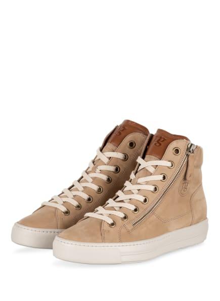paul green Hightop-Sneaker, Farbe: BEIGE (Bild 1)