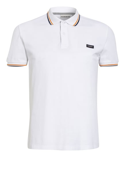 NAPAPIJRI Piqué-Poloshirt TALY, Farbe: WEISS (Bild 1)