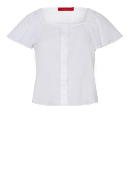 MAX & Co. Off-Shoulder-Bluse SUFFISSO, Farbe: WEISS (Bild 1)