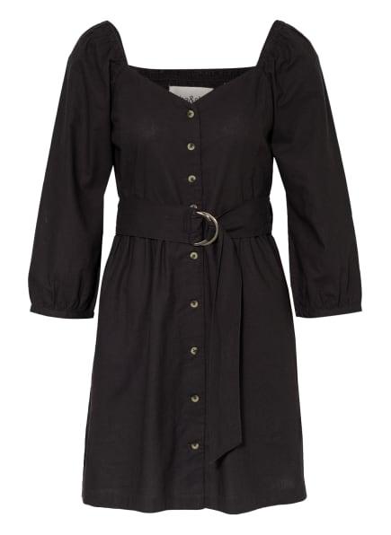 ba&sh Kleid CYRIELLE mit 3/4-Arm, Farbe: DUNKELGRAU (Bild 1)