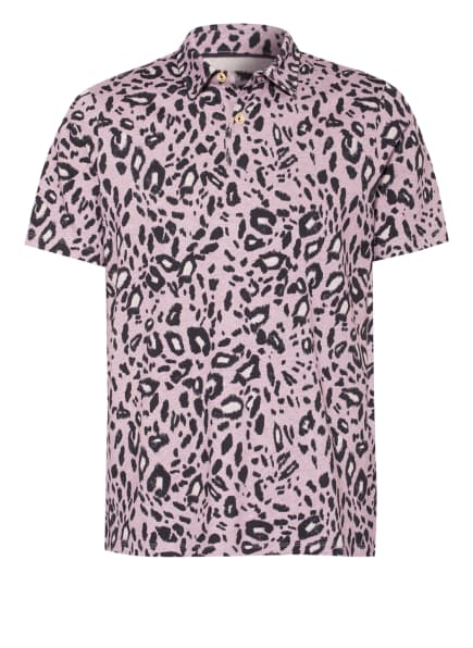 TED BAKER Jersey-Poloshirt GYOZA, Farbe: HELLLILA/ SCHWARZ/ HELLGRAU (Bild 1)