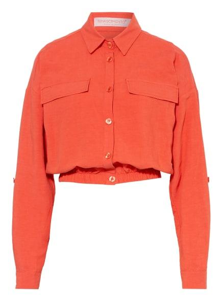RINASCIMENTO Jacke mit Leinen, Farbe: DUNKELORANGE (Bild 1)