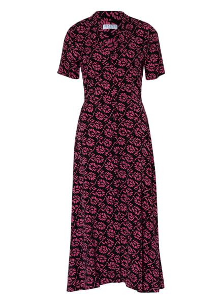 CLAUDIE PIERLOT Kleid RIVERAMO, Farbe: SCHWARZ/ FUCHSIA (Bild 1)